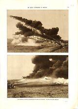 WWI Bataille de Verdun Lance-flammes Flamethrower Flammenwerfer B ILLUSTRATION