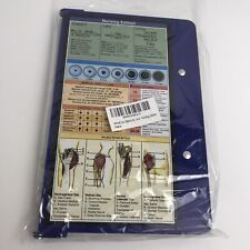 WhiteCoat Folding Clipboard Nursing Edition (Blue)