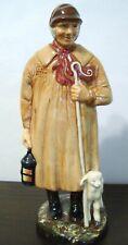 "Royal Doulton Porcelain Figurine Hn 1975 The Shepherd - Copr 1945 - 8 3/4"" H"