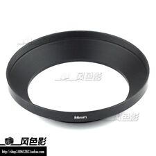 New 86mm Screw-in Metal Lens Hood For Wide angle Lens