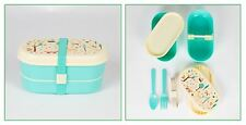 SASS & BELLE WHIMSICAL WOODLAND BENTO BOX LUNCHBOX LUNCH DINNER FOOD STORAGE