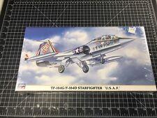 1/48 Hasegawa TF-104G F-104D Starfighter 'USAF' New Sealed F-104