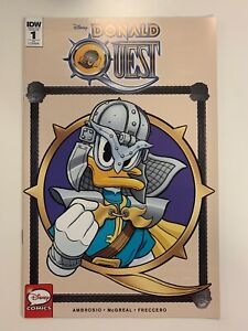 IDW DONALD QUEST #1 RI COVER : NM CONDITION