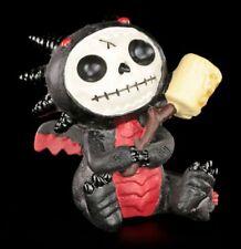Furry Bones Figur - Black Scorchie - Fun lustig Statue Furrybones Drache