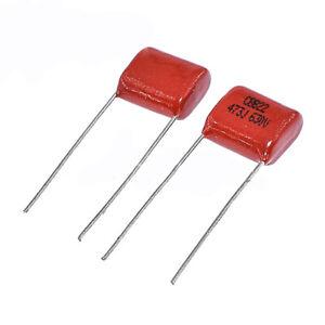CBB Metallized Polypropylene Capacitors 630V 473J 0.047UF 47NF 473J630V