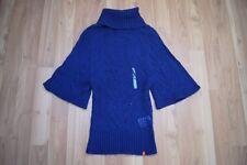 Edc by Esprit Loch Strick Rolli Rollkragen Pullover Sweater Gr XS 34 36 NEU