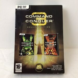 Command & Conquer 3 Deluxe Edition PC Game Only DVD Compatible EA CNC