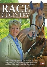 Race Country with Clare Balding (New DVD) Lambourn Horse Racing Jump Flat