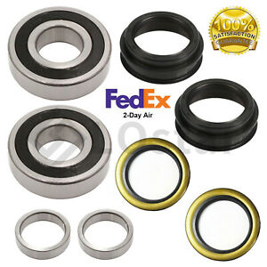 Pair(2) Rear Wheel Bearings Fits Toyota 4Runner Tacoma T100 Pickup With Seal