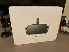 Oculus Rift CV1 VR Headset with Controllers & Sensors Excellent Condition