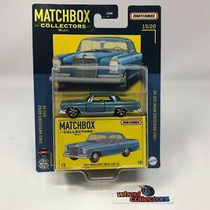 1962 Mercedes-Benz 220 SE * 2021 Matchbox COLLECTORS Case J