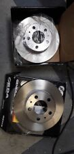 Volvo 240 Series With ATE Calipers 1975-1993 FRONT Disc brake Rotors RDA382 PAIR