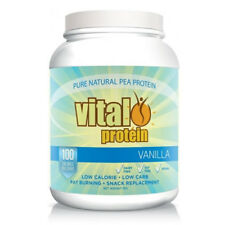 VITAL PROTEIN VANILLA 1KG 100% PEA PROTEIN ISOLATE LOW CALORIES CARB VEGAN