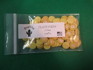 Budget Yellow Flute Pads 17.6-17.7 mm Medium