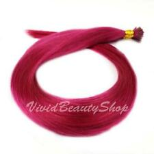 25 Fuchsia Pink Pre Bond Stick I Glue Tip Micro Beads Remy Human Hair Extensions