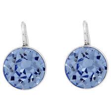 Swarovski Bella Pierced Earrings - Light Sapphire Crystal