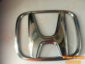Front Grill Rear Trunk Emblem Logo Badge Decal SUITABLE FOR Honda 113mm - 94mm