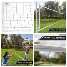 Outdoor Beach Volleyball Net Professional Sport Regulation Heavy Duty Set 32'x3'