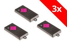 3 Dickert  Handsender 1-Befehl 433 Mhz AM MAHS433-01 MAHS 433 z.B. Novodoor Funk