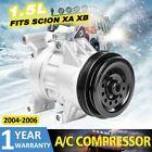 AC Compressor CO11034C for 2004-2006 Scion xA 2004-2006 Scion xB 1.5L -97376