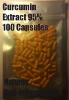 Curcumin Extract 95% 100 Capsules - High Quality Turmeric Extract