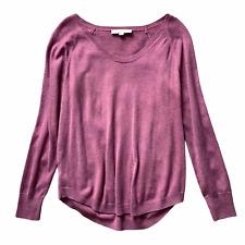 Ann Taylor LOFT Womens Size M Medium Pink Long Sleeve Pullover Sweater