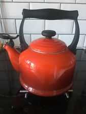 Le Creuset Traditional Kettle , 2.1 Litre - Cerise Red - Used condition