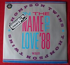 Thompson Twins, in the name of love '88, maxi vinyl