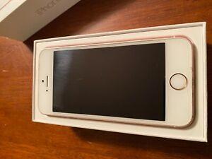 Apple iPhone SE - 128GB - Rose Gold (Unlocked) A1662 (CDMA + GSM)