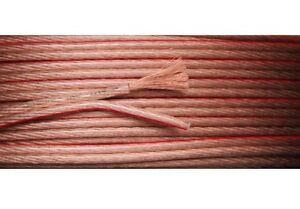 100 Meters or ( 2 X 50m) Speaker Cable 2 x 4mm Multi Strands 12AWG Audio Wire