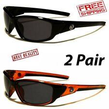2 PAIR POLARIZED Nitrogen Men Anti Glare Fishing Cycling Drivin Sport Sunglasses