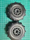 Used Pro-Line 1158 Sling Shot 2.2/3.0 Sand Tires w/Blk Whls 2WD/4WD F/R 12mm SCT