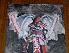 Mielan Zebrowski ' War ' Fantasy Painting 9 X 12 inches Mixed Media Original Art