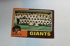 1975 Topps Baseball Card Complete Finish Fill Your List Set U-Pick