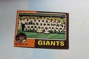 1975 Topps Baseball Card Complete Finish Fill Your List Set U-Pick
