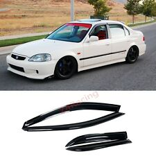 For 96-00 HONDA CIVIC EK SEDAN 4DR SIDE WINDOW VISOR JDM Rain Guards Deflector