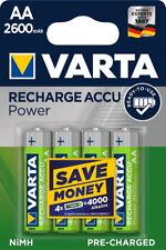 20 Varta 05716 Akku AA 2600mAh Ready To Use Nickel-Metall-Hydrid im 4er Blister