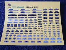 FDS DECALS N°23 COUNTERS 1/43 SCALE