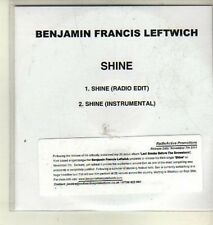 (CW444) Benjamin Francis Leftwich, Shine - 2011 DJ CD