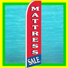MATTRESS SALE ADVERTISING BANNER Furniture Feather Swooper Bow Flutter Ad Flag
