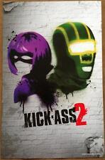 KICK ASS 2 - 11x17 Original Promo Movie Poster MINT HIT GIRL 2013 Rare Version