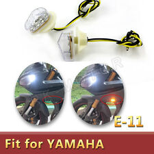 Clear Turn Signal  Flush mount led Light for YAMAHA YZF R1 YZFR1 YZFR6 2010 2014