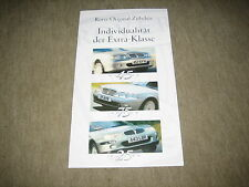 Rover 25/45/75 Accessories Brochure Accessories Brochure from 2000, 12 pages