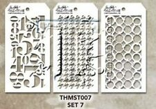 Tim Holtz MINI STENCIL SET 7 MST007