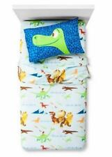 Dinosaur Sheet Set Trio 3 Piece Twin Size Bed Kids Boy Toddler Pillowcase New