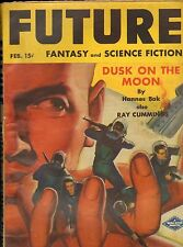 Pulp SI-FI--Furture Fantasy Feb. 1943-----81