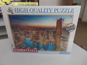 Clementoni DUBAI MARINA JIGSAW PUZZLE 1500 pieces NEW & SEALED