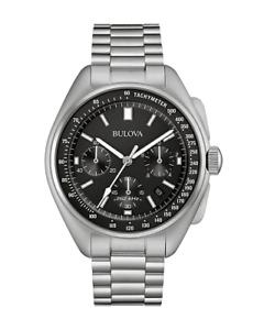 Bulova Lunar Pilot Moon Watch Chronograph 96B258 96B251 96A225