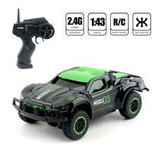 2.4G 1/43 Speed 4WD RC Monster Truck Off Road Vehicle Remote Control Car Gift