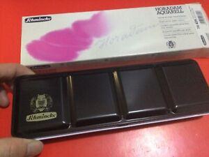 Schmincke Horadam Empty Watercolor Tins Palette Paint Case Box